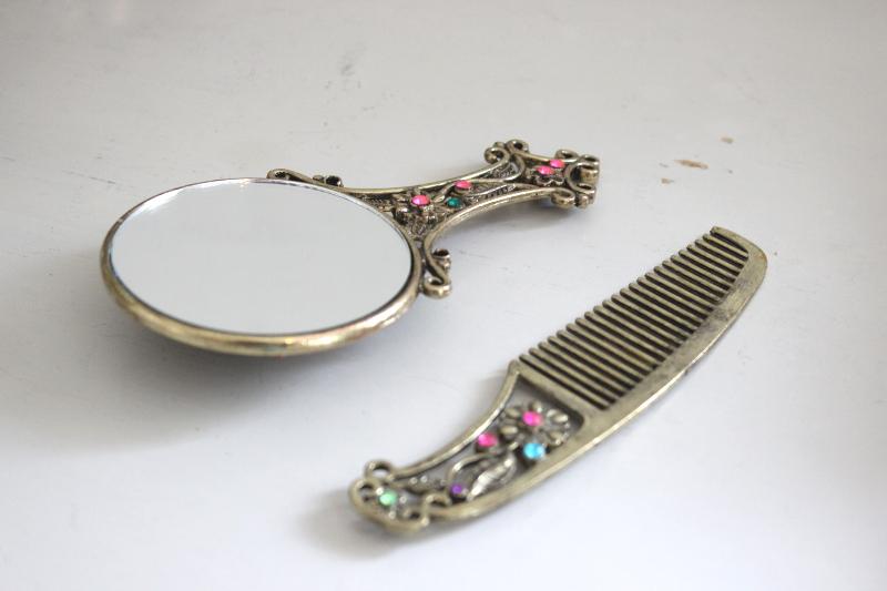 Kam och spegel