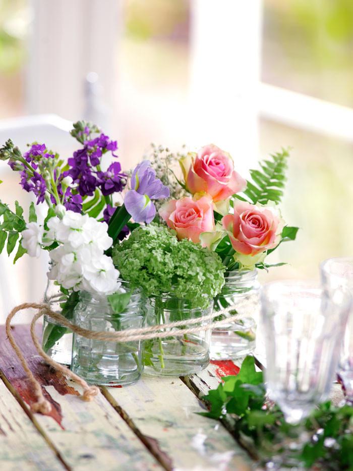 Ge bort present blommor