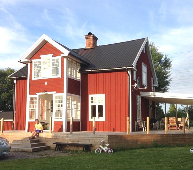 Annika och Fredriks hus