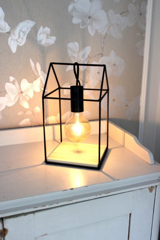 DIY Lampa Bland damm & dekor 4