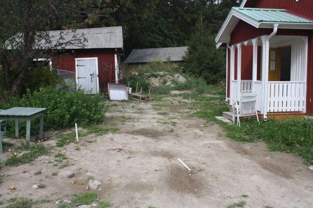 Trädgårdsrenovering