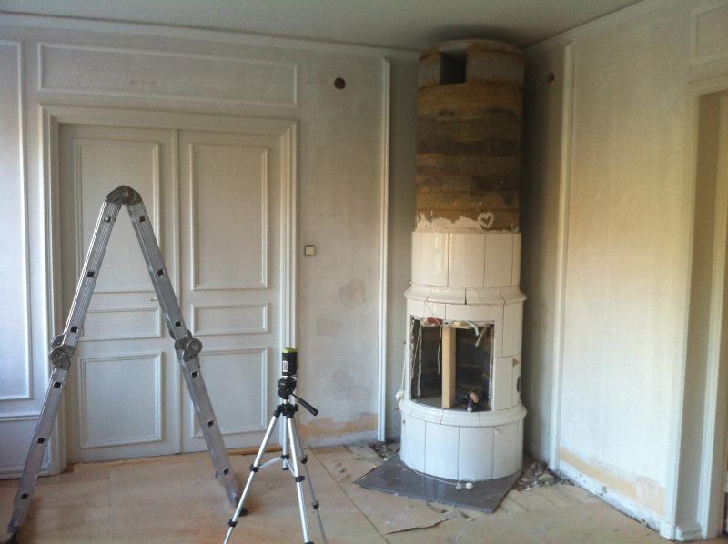 Att installera en Kakelugn | Bland Damm & Dekor : kakelugn diy : Inredning