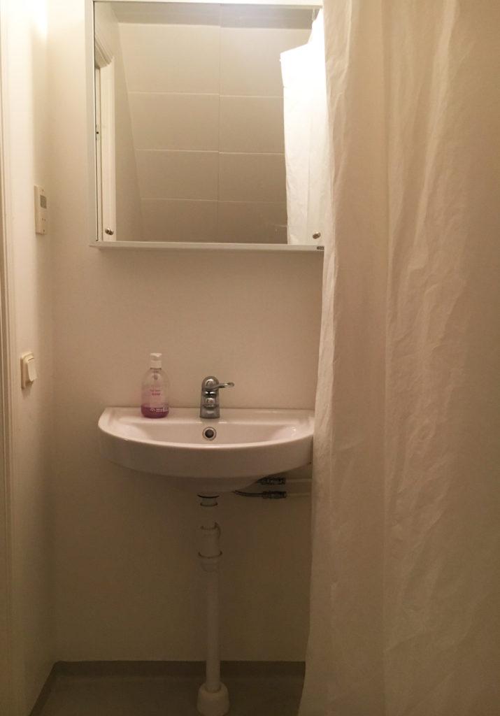 måla plastmatta i badrummet